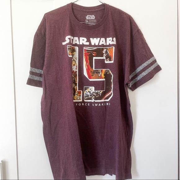 Star Wars The Force Awakens  T Shirt 2XL